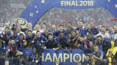 法国4:2击败克罗地亚夺下2018世界杯